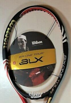 NEW Wilson BLX Six. One Tour 90, 4 3/8 grip, 2010 Federer Pro Staff
