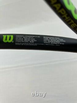 NEW Wilson Blade 18x20 2015, 4 1/4