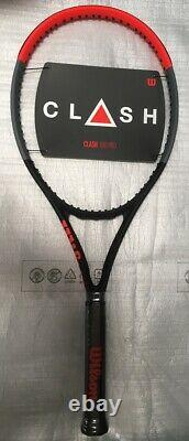 NEW Wilson CLASH 100 PRO (Formerly Tour) Tennis Racquet 4 1/8 Racket 16X19
