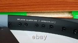 NEW Wilson CLASH 100 Tennis Racquet 4 3/8