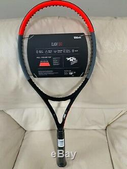 NEW Wilson Clash 100 4 1/4 Tennis Racquet Racket