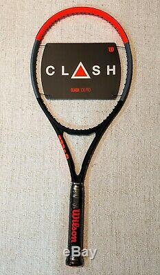 NEW Wilson Clash 100 Pro Tennis Racquet Grip Size 4 3/8