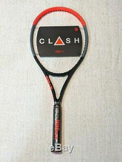 NEW Wilson Clash 100 Tennis Racquet Grip Size 4 1/2