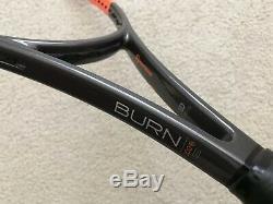 NEW Wilson H22 18x20 CV Burn 100 Pro Stock Tennis Racket Paint Job Racquet