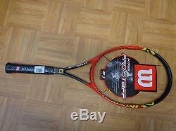 NEW Wilson Hyper Pro Staff 6.1 95 head 16x18 4 5/8 grip Tennis Racquet