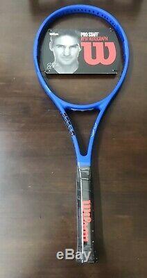 NEW Wilson Laver Cup RF Federer Autograph 97 4 1/2 grip Tennis Racquet