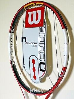 NEW Wilson N-Code Six-One 6.1 95 16 x 18 Tennis Racquet 4 5/8 Grip Federer NCode