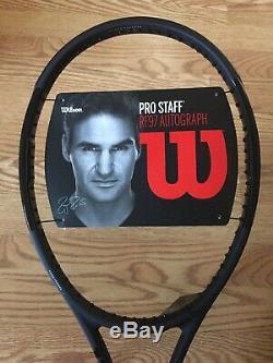 NEW Wilson Pro Staff RF97 Roger Federer Autograph Tennis Racket 4 3/8