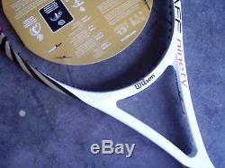 NEWith 2012 BLX Wilson Pro Staff 90 Signature Edition Tennis Racquet 43/8 last one