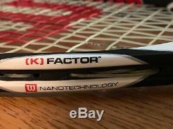 NOS Wilson K Factor K 6.1 Tour 90 Prostaff Pro Staff 90 FEDERER 4 1/2