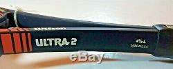 NOS Wilson Ultra 2 Midsize Boron 4 3/8 grip RARE 1983 early version Mandlikova