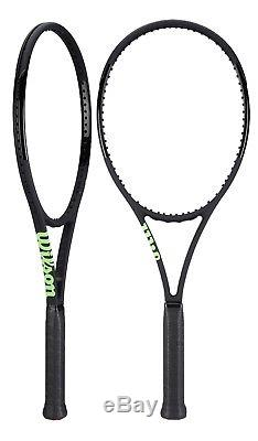 New 2018 Wilson Blade 98 CV 16x19 Black / Series Noir Tennis Racquet