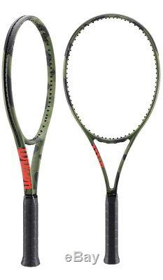 New 2018 Wilson Blade 98l Camo Edition (16x19) Tennis Racquet (4 3/8)