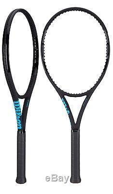 New 2018 Wilson Ultra 100 Countervail Black / Series Noir Tennis Racquet