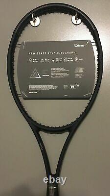 New 2020 Wilson Pro Staff RF97 v13 Roger Federer Autograph 4 1/2 Racket Racquet
