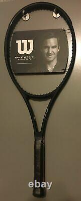 New 2020 Wilson Pro Staff RF97 v13 Roger Federer Autograph 4 1/4 Racket Racquet