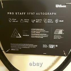 New 2020 Wilson Pro Staff RF97 v13 Roger Federer Autograph 4 1/4 Racquet
