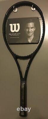 New 2020 Wilson Pro Staff RF97 v13 Roger Federer Autograph 4 3/8 Racket Racquet