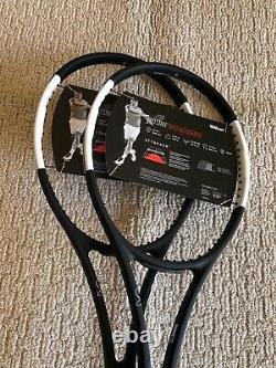 New 2X Wilson Pro Staff RF 97 V12 Tennis Racquet Grip Size 4 3/8