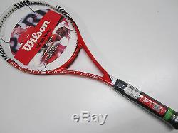 New Old Stock Wilson Blx Six One 95 (18x20) Tennis Racquet (4 3/8)
