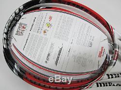 New Old Stock Wilson Blx Steam 99s Spin Effect Tennis Racquet (4 1/4)