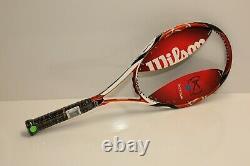 New Old Stock Wilson K Factor K tour 95 tennis racquet, 4 1/2