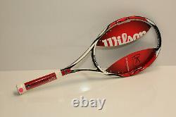 New Old Stock Wilson K-Factor Six One 95 tennis racquet, 4 3/8, Original frame