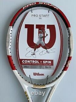 New Old Stock Wilson Pro Staff 95 Tennis Racquet (4-1/4) 2014
