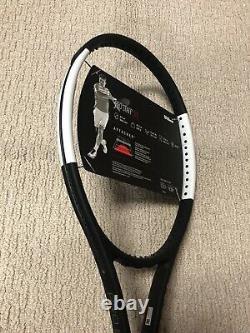 New Old Stock Wilson Pro Staff 97L V12 Tennis Racquet Grip Size 4 3/8 Tuxedo