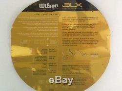 New Wilson BLX Six-One Tour 90 tennis racquet, 45/8, Federer Auto, original stock