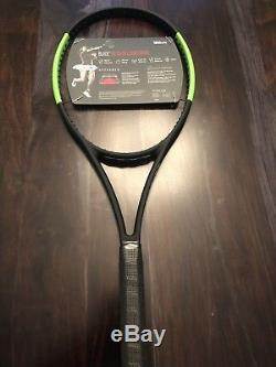 New Wilson Blade 98 16x19 Countervail Grip 4 1/4