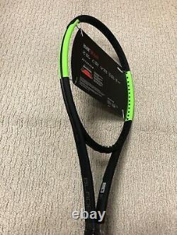 New Wilson Blade 98 16x19 V6 Tennis Racquet Grip Size 4 3/8