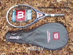 New Wilson Hyper Hammer 2.1 Racket 115 HH 2.1 H 2.1 1/4 3/8(fee). $229 last 1's