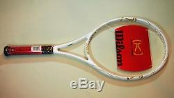 New Wilson K Factor Gold Ltd Edition White Venus Williams Blade 10.10 New
