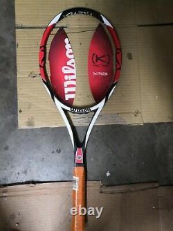 New Wilson K factor 90 head federer 4 1/2 grip Tennis Racquet