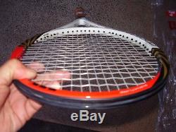 New / Wilson PS 6.0 90 BLX 2. RF Tennis Racquet 1/4 Plastic on Handle/Rare Size