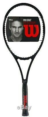 New Wilson Pro Staff RF97 Autograph Roger Federer Black 4 3/8 L3 Tennis Racquet