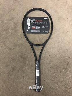 New Wilson Pro Staff RF97 Autograph Tennis Racquet Unstrung Grip Size 4 3/8 BLK