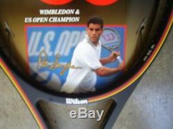 NewithPete Sampras signed Wilson Pro Staff 6.0 85 Tennis Racquet