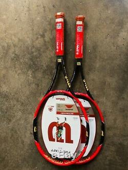 NewithRare 2 Wilson Pro Staff 97S First generation Tennis Racquet 41/4