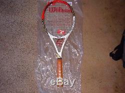 NewithWilson Pro Staff 90 6.0 BLX 2 feds signature Ed. Tennis Racquet 1/4