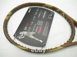 Nos Wilson Burn 100ls Camo Edition Tennis Racquet (4 1/4) Unstrung