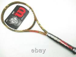 Nos Wilson Burn 100ls Camo Edition Tennis Racquet (4 3/8) Unstrung