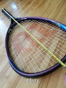 RARE Jumbo Giant Huge Wilson Sledge Hammer 3.8 Tennis Racquet Display DAMAGED
