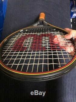 RARE/NEWithWilson Pro Staff 6.0 85 Tennis Racquet 2x Sampras Autograph