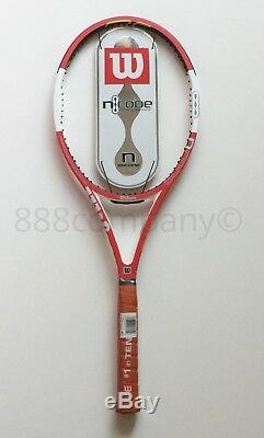 RARE NOS in PLASTIC Wilson nCode 6.1 Tour 90 Prostaff Pro Staff FEDERER 4 3/8