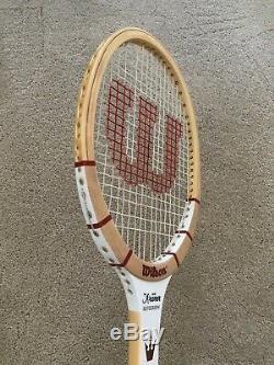 RARE New Wilson Jack Kramer Autograph Tennis Racquet Grip Sz 4 3/8 LTD 500 MADE