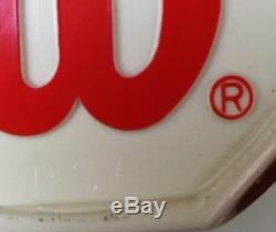 RARE VTG NOS NWT in PLASTIC Wilson Prostaff Mid 85 St. Vincent Sampras 4 1/4 BSQ