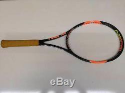 RARE Wilson H22 Pro Stock 100 head 27.5 lenght 18x20 4 1/2grip P1 Tennis Racquet