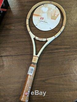 RARE Wilson Jack Kramer Autograph Vintage Racquet